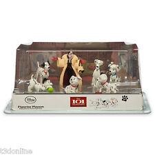 Genuine Disney 101 Dalmatians Figurines Figure Play Set Dalmations Cake Toppers