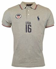 Polo Ralph Lauren Men's Custom-Fit USA Polo Shirt