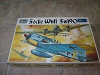 GERMAN WWII Focke-Wulf Fw109 Rare Vintage Box 1/32 Hasegawa Airplane Model kit