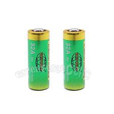 2 pcs 32A 9V Volt 6LR732 Alkaline Battery Remote Control