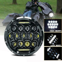 "7""LED Round Headlight Motorcycle High/Low Beam DRL LED Driving Light For Cafe NT"
