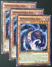 Set 3X VENDICATORE XYZ  LVAL-IT042 Comune Italiano YUGIOH