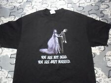 Large- 2005 Tim Burtons You Are Not Dead You Are Just Married Alstyle T- Shirt