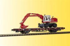 Kibri 26258 échelle H0, wagon bas-pension avec atlas excavateurs DE ROUE ,