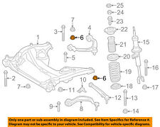 BMW OEM 750i xDrive Front Suspension-Upper Control Arm Retainer Nut 31106866023