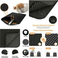 Cat Litter Mat Litter Trapping Extra Large Honeycomb Double Water Proof Washable