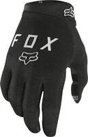Fox Racing Ranger Gel Gloves Black Full Finger Men's Medium Warm Weather Glove