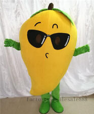 Mango Mascot Costume Fruit suits Birthday party fancy dress Adults Size events