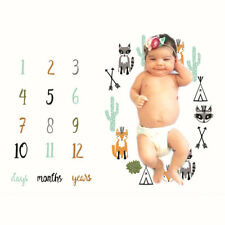 Newborn Baby Blanket Photos Background Photography Monthly Props Stroller covers