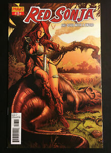 RED SONJA 67 VARIANT JACK HERBERT RARE NM QUEEN DAMSELS AD V 4 CHAOS 1 COPY