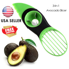 USA SELLER ! Fruit Avocado Slicer Special Knife Three in One Protable Tool