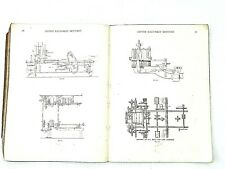 Vtg Sketches Textile Machinery Mechanical 1903 Cotton William Scott Taggart