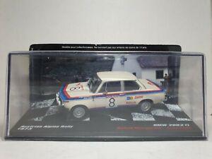 ALTAYA BMW 2002 TI - WARMBOLD / TODT - RALLY ALPINE AUSTRIAN 1973 - 1/43