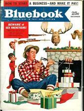 BLUEBOOK, Dec 1952 issue, rare US slick mag, sci-fi fantasy western crime noir