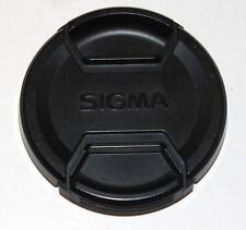 Front Lens Cap Sigma BLACK 58mm LCF-58