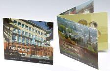 """BU Set Luxemburg 2013  """"Differdange"""" - 9 munten 2x2 euros"""