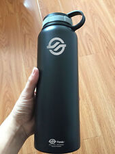 1.1l Thermoflask Insulated Double Wall Vacuum Stainless Steel Water Bottle 40oz Black 40oz