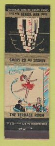 Matchbook Cover - New Yorker Hotel New York City
