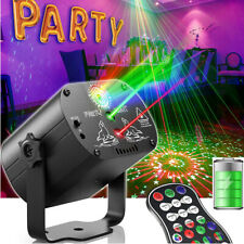 240 Muster Laser Projektor LED Party DJ Disco Bühnenbeleuchtung USB Rechargeable