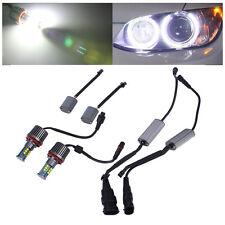 2pcs High Power Error FGee LED Angel Eyes Light Bulbs For BMW E92 H8 120W EW