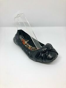 Rocket Dog/ Comfortable Flats/ Black Patent Leather/ Size 3, EU 36/ Elasticated