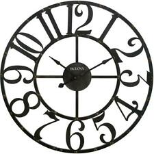 45 in. H x 45 in. W Round Wall Clock by  Bulova