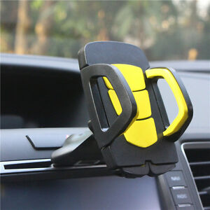 Multi Car Auto CD Slot Mount Cradle Holder Stand For Mobile Smart Cell Phone