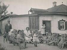 P. Verger - UKRAINE c. 1938 - Enfants Crèche Ferme Collective Kharkov - DIV 9952