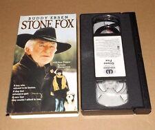 Stone Fox (VHS, 1993) Buddy Ebsen