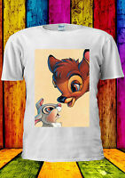 Walt Disney Character Bambi Rabbit T-shirt Vest Tank Top Men Women Unisex 361