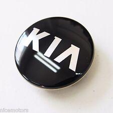 Genuine KIA LOGO Wheel Center Cap Black 4Pcs For KIA Optima 2011 2016