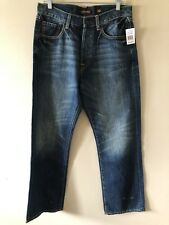 Mens New Ed Hardy Straight Leg Jeans Size 32 x 32