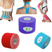 5M*5CM Rolls Kinesiology tape Elastic Sports Tape Injury Muscle Physio Support