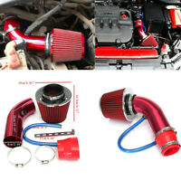 1*Car Cold Air Intake Filter Induction Kit Pipe Power Flow Hose System Universal