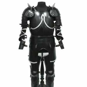 Medieval Gothic Full Armor set,cosplay knight plate armor Best Party Costume