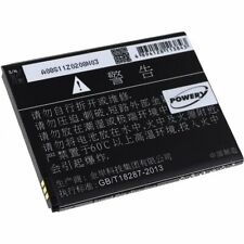 Akku für Smartphone Elephone Typ 1ICP5/58/72 3,7V 2000mAh/7,4Wh Li-Ion Schwarz