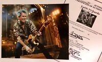 Keith Richards of The Rolling Stones Hand Signed Autographed Photo Framed W/COA