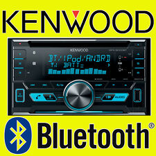 KENWOOD CAR/VAN CD/MP3, AUX-IN, USB IPOD/IPHONE, DOUBLE DIN BLUETOOTH STEREO