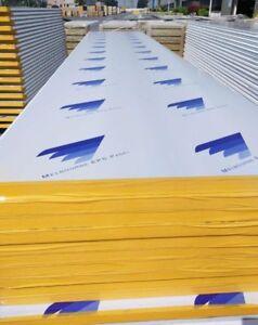 INSULATION Z LOCK EPS COOLROOM PANELS 1150mm WIDE (AU Standard) 50mm $23.50 m2