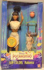 Mattel Special Edition Disney Classics Pocahontas Nakoma Celebrity Barbie Doll