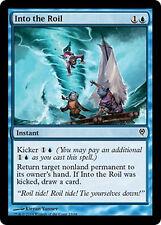 Into the Roil X4 NM Duel Decks Jace vs. Vraska MTG Magic Cards Blue Common