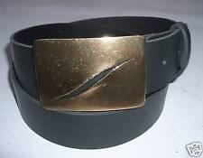 GÜRTEL LEDERGÜRTEL DAMENGÜRTEL (45), grün, 40 mm breit