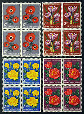 LUXEMBOURG timbres/Stamps Yvert et Tellier n°506 à 509 x4 n** (cyn8)