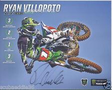 Autographed New 2014 Ryan Villopoto Monster Energy Supercross