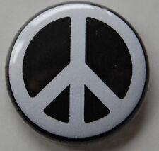 PEACE CND SIGN 25MM / 1 INCH BUTTON BADGE HIPPY MAKE LOVE WAR