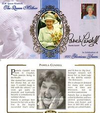 4 AUGUST 2000 QUEEN MOTHER BENHAM BSSp FDC SIGNED BY ACTRESS PAMELA CUNDELL