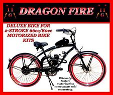 "DELUXE 26"" CRUISER BIKE FOR 2-STROKE 66CC/80CC MOTORIZED BICYCLE KITS"