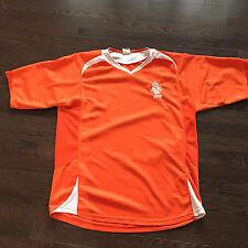Netherlands Holland National Team KNVB Vintage Jersey Mens Size L Sewn