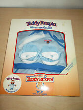 Vintage 1985 Teddy Ruxpin Adventure Outfits: Workout Outfit. Nib By W.O.W.