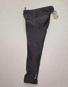 NEW Canari Men's Pro Elite Gel Cycling Tights Padded Pants 1643 Black/Reflective